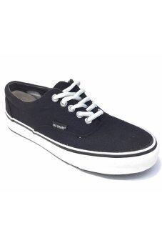 MASHARE รองเท้าผ้าใบ แฟชั้น ผู้ชาย รุ่น V4 - (Black)