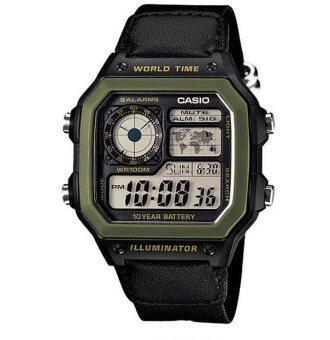 Casio Standard นาฬิกาข้อมือ รุ่น AE-1200WHB-1B (Black)