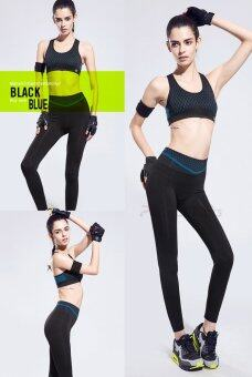 Perfect Pairs Leggings เลคกิ้ง New suits Black/Blue