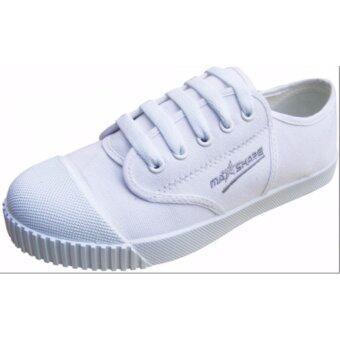 MASHARE รองเท้าผ้าใบนักเรียน รุ่น M205 สีขาว