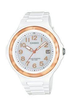 Casio Standard นาฬิกาข้อมือผู้หญิง สีขาว สายเรซิ่น รุ่น LX-S700H-7B3V