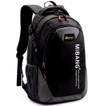 Peimm Modello Backpack 43 Cm.MiB กระเป๋าเป้สะพายหลัง กันน้ำ สไตส์เกาหลี (สีดำ)