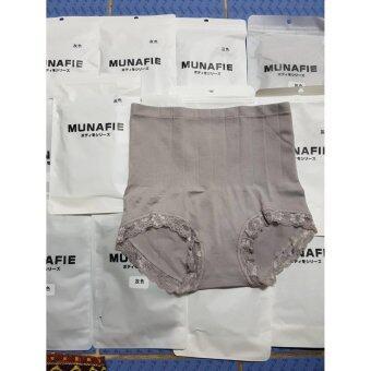 MUNAFIE กางเกงในเก็บพุง V1 (สีเทา)