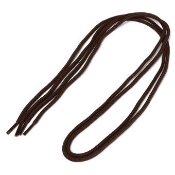 Harga 1 Pair 4mm Thick Cord Round Shoe Laces Shoelaces For Boots Hiking-boots Sneakers Brown - Intl