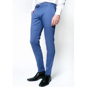 B&B กางเกงขายาว Chino Pant ( LIGHT BLUE )