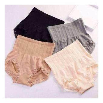 MUNAFIE Set กางเกงในญี่ปุ่นกระชับสัดส่วน (ครีม/เทา) 2 ตัว
