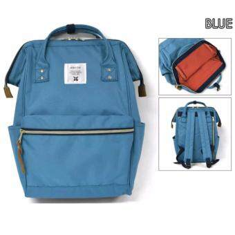 Harga ANELLO CLASSIC POLYESTER CANVAS RUCKSACK (BLUE)