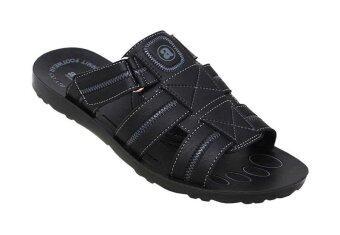 Aerosoft รองเท้าแตะผู้ชาย P0106 สีดำ
