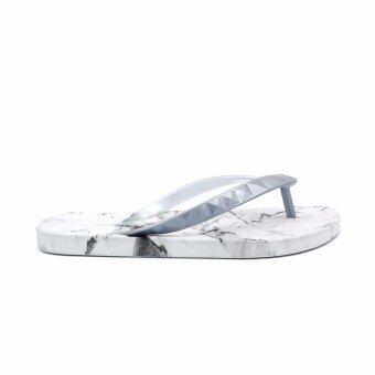 Monobo Signature รองเท้าแตะ ลำลอง แบบสวม รุ่น MONOBO JINA1 - สีบรอนซ์เงิน