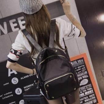B'nana Beauty กระเป๋าเป้สะพายหลัง กระเป๋าเป้เกาหลี กระเป๋าสะพายหลังผู้หญิง backpack women รุ่น GB-11 (สีดำ)