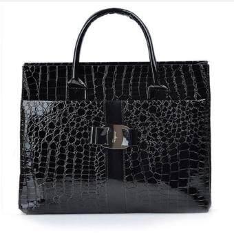 A billion กระเป๋า กระเป๋าสะพายข้างสีดำ สำหรับผู้หญิง No.0-6(สีดำ)