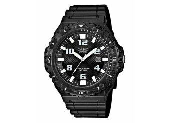 Casio Standard Analog Solar Power นาฬิกาข้อมือ รุ่น MRW-S300H-1BV (Black)