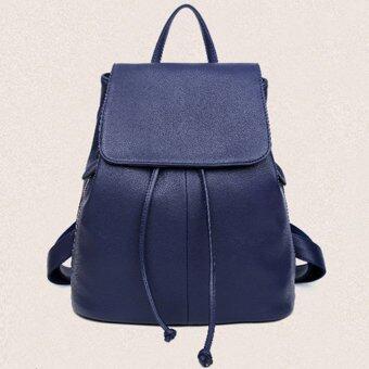 ผู้หญิงสันทนาการ Nonslip กระเป๋านักเรียน (สีน้ำเงิน)