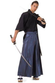 Princess of asia ชุดฮากามะ (สีเทาฟ้า-ดำ)