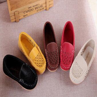 I67 หายใจสบาย ๆ รองเท้าไอ้ถั่วปูตาข่ายโพรงฤดูร้อนเด็กสาวรองเท้าสีแบน-ระหว่างประเทศ