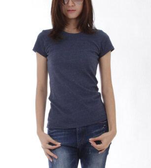 POLOMAKER เสื้อยืด MicroBrush TM17 สีกรมท่าท๊อปดราย (Female)