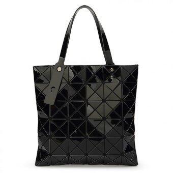 Bag Fashion กระเป๋าแฟชั่น สำหรับถือและสะพายไหล่ รุ่น011 (สีดำ)