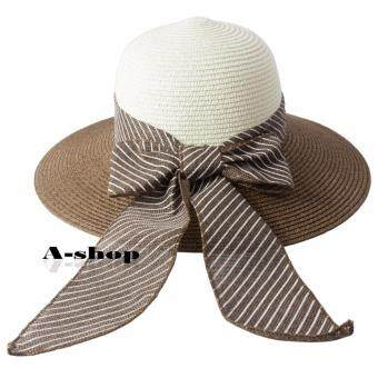 A-shop หมวกสาน หมวกแฟชั่น ผู้หญิง Hat085-03