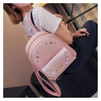 B'nana Beauty กระเป๋าเป้สะพายหลัง กระเป๋าเป้เกาหลี กระเป๋าสะพายหลังผู้หญิง backpack women รุ่น GB-02 (สีชมพู)