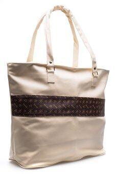 DM กระเป๋าสะพาย Leather Keey (Creamy)