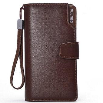 2ชิ้นยาวซิปกระเป๋าสตางค์พวกบัตรเครดิตโทรศัพท์มือถือถือกาแฟ