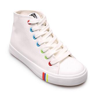 Air Move รองเท้าแฟชั่นผู้หญิง รุ่น 9006 - White