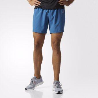 ADIDAS กางเกง วิ่ง อาดิดาส Men Run Short Response B47725 BL(890)