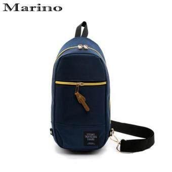 Marino กระเป๋า กระเป๋าสะพายข้าง No.0215 - D.Blue