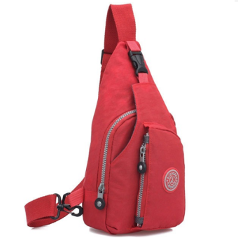 RICHCOCO กระเป๋าเป้ สายเดี่ยว Nylon leisure Backpack K03_02-Red