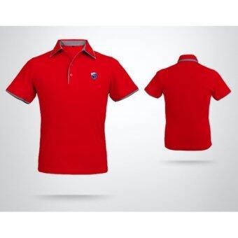 EXCEED เสื้อกอล์ฟผู้ชาย สีแดง YF027 MEN'S GOLF STRETCH T-SHIRT PGM ( RED )
