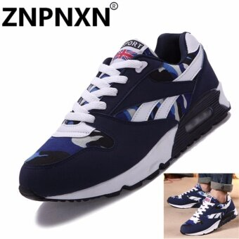 Harga Men's Sports Running Shoes (Blue)
