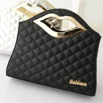 กระเป๋าถือKISS สีดำ