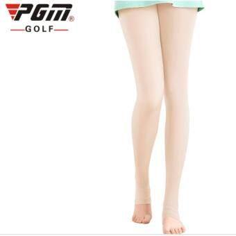 EXCEED LEGGINGS LADY CREAM COLOUR กางเกงเลคกิ้ง (KUZ014) สีครีม