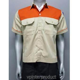 เสื้อช็อบ เสื้อวิศวะ เสื้อทำงาน size L รอบอก 44 นิ้ว