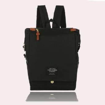 Marverlous กระเป๋า กระเป๋าเป้ Japan style Backpack NO.1123-สีดำ