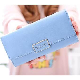 B'nana Beauty กระเป๋าสตางค์ใบยาว กระเป๋าเงินผู้หญิง กระเป๋าตังตามวันเกิด กระเป๋าสตางค์น่ารัก กระเป๋าตังสวยๆ รุ่น GC-08 (สีฟ้า)