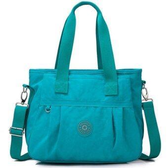 RICHCOCO กระเป๋าสะพาย เนื้อผ้าไนลอนกันน้ำ Waterproof Nylon Crossbody Handbag (Dark Blue)