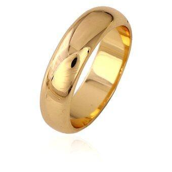TANITTgems แหวนทองเกลี้ยงขัดเงา รุ่น TNBR11204-7