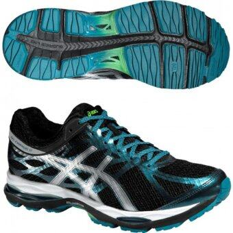 Harga Asics Men Running Shoes รองเท้าวิ่งผู้ชาย GEL-CUMULUS 17 LITE-SHOW-BLACK/SILVER/OCEAN DEPTH