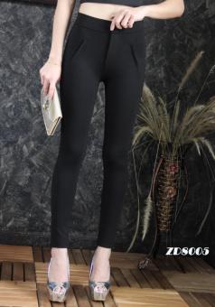 Platinum Fashion กางเกงขายาวเอวสูง ทรงสกินนี่ รุ่นZD8005