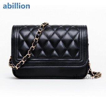 A billion กระเป๋าสะพายข้าง กระเป๋าสะพายผู้หญิง No.0-7( Black )