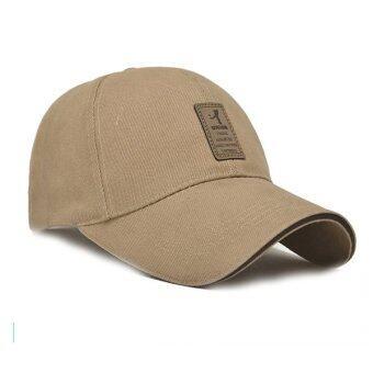 นิวแฟชั่นหมวกเบสบอลกีฬา 2559 เพศ Snapback กอล์ฟหมวกแข็ง ๆ กลางแจ้งสำหรับคนกระดูก (สีครีม)