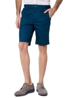 B&B menswear & Fashion กางเกงขาสั้น Chino (Ocean Blue)