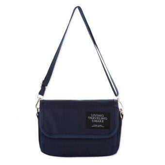 HS กระเป๋าเป้สะพายหลัง กระเป๋าแฟชั่น กระเป๋าเดินทาง กระเป๋าเป้ผู้หญิง กระเป๋าเป้เท่ๆ Backpacks HSWB0011 Blue