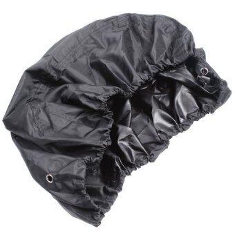 ผ้าคลุมกันฝนไซส์กลางสีดำ 35 อะ 55ลิตร