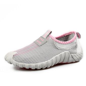 รองเท้ากีฬากลางแจ้งในฤดูท่องเที่ยว LBW ผู้หญิง (สีเทา)