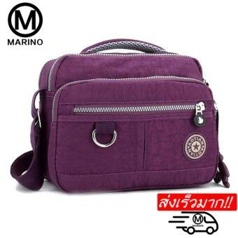 Marino กระเป๋า กระเป๋าสะพาย กระเป๋าสะพายผู้หญิง No.1857 - Purple