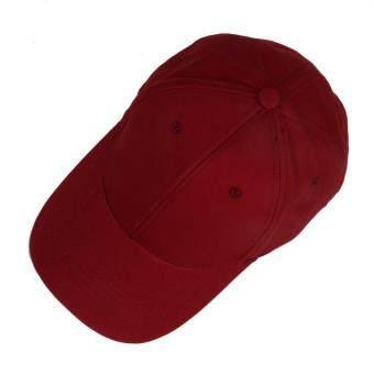 คนยอง UINN แฟชั่นสไตล์โปโลเพศหมวกหมวกแก๊ปเบสบอลวัสดุปลูกไวน์แดง