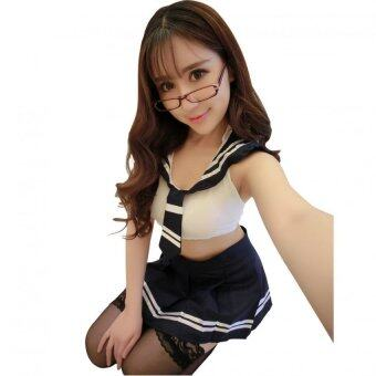 sexy cosplay ชุดคอสเพลย์นักเรียนญี่ปุ่น 2012
