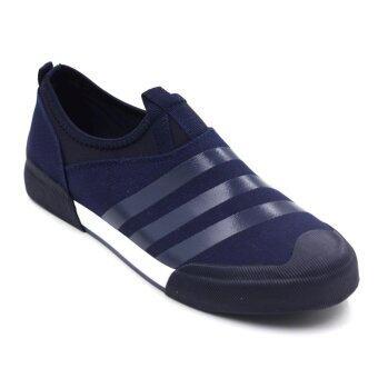 Air Move รองเท้าผ้าใบแฟชั่นผู้ชาย รุ่น MT6071 (Blue)